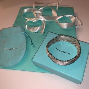 Tiffany Classic Mesh Silver Bracelet
